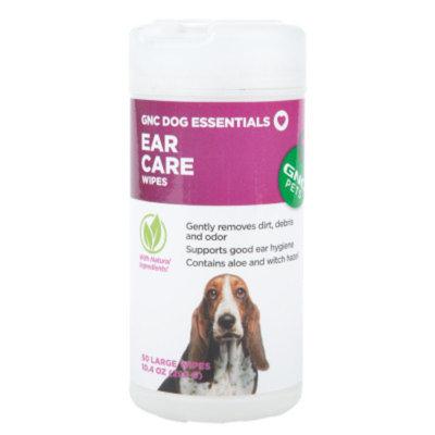 GNC Pets Dog Essentials Ear Care Wipes