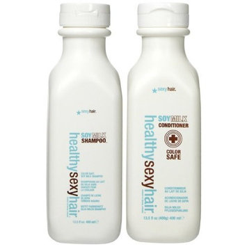 Sexy Hair Concepts Healthy Sexy Hair Soy Milk Shampoo and Conditioner 13.5oz Duo