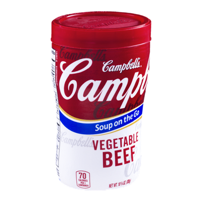 Campbell's Soup on the Go Vegetable Beef