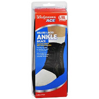 Walgreens Ace Deluxe Laced Ankle Brace