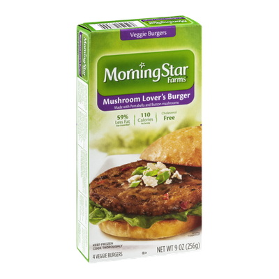 Morning Star Farms Mushroom Lover's Veggie Burger - 4 CT