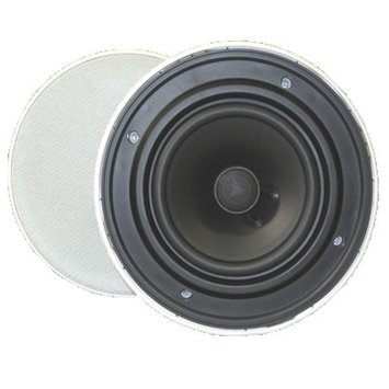 Goldwood Sound GH-65 Speaker - Black - 45 Hz to 20 kHz - 8 Ohm - In-ceiling