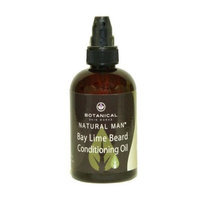 Natural Man Beard Oil 4oz All Natural Bay Lime Beard Conditioner by Botanical Skin Works