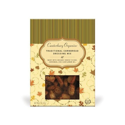 Canterbury Organics Rosemary Cornbread Dressing Mix, 12-Ounce Packages (Pack of 3)