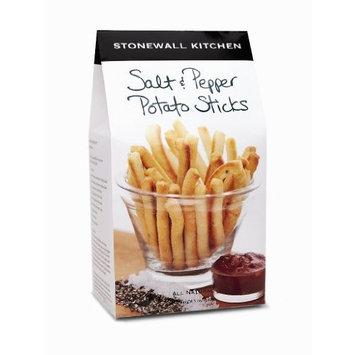 Stonewall Kitchen Salt & Pepper Potato Sticks, 5-Ounce Boxes (Pack of 4)