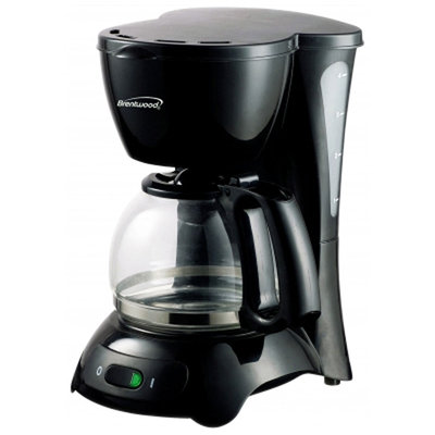 Brentwood Appliances TS-214 4-Cup Coffee Maker - Black