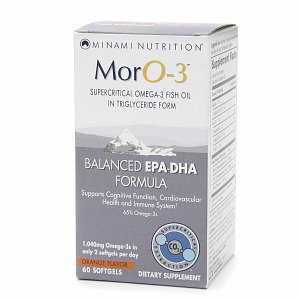 Minami Nutrition MorO-3 Omega-3 Fish Oil