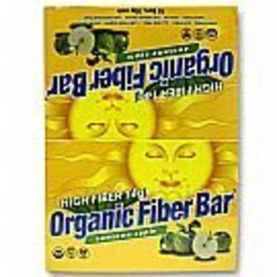 Organic Fiber Bar Awesome Apple - Box Renew Life 18 Bars Box