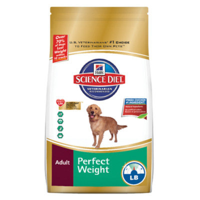 Hill's Science Diet HillsA Science DietA Perfect Weight Adult Dog Food
