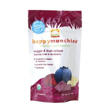 Happy Munchies Organic Veggie and Fruit Crisps Banana Beet & Blueberry