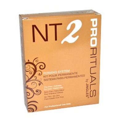 Jingles NT2 Perming System for Color Treated Hair for Unisex