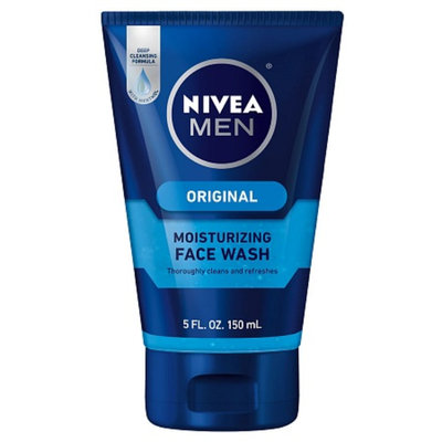 NIVEA for Men Moisturizing Face Wash Deep Cleansing Formula