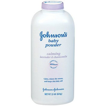 Johnson's Calming Lavender & Chamomile Baby Powder
