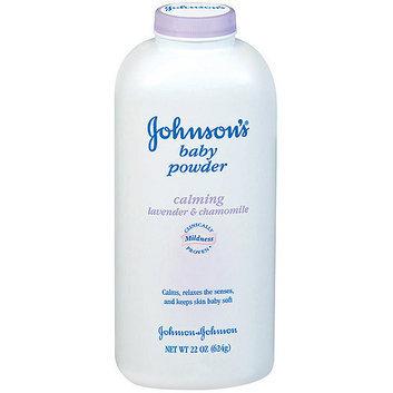 Johnson's Calming Lavender & Chamomile Baby Powder