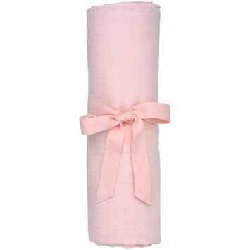 Under The Nile Muslin Swaddle Blanket Color: Pink