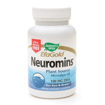 Nature's Way EfaGold Neuromins 100 mg DHA Softgels