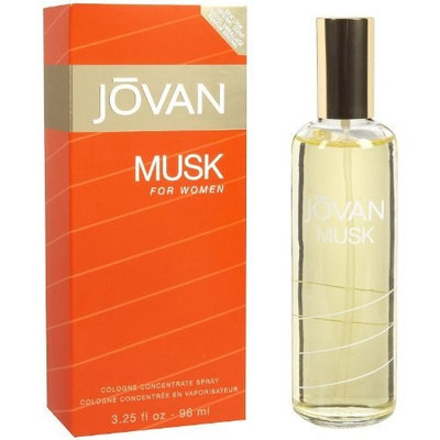 Jovan Musk By Jovan For Women, Cologne Concentrate Spray, 3.25-Ounce Bottle