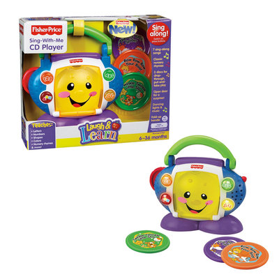 Fisher Price Fisher-Price Laugh and Learn Sing With Me CD Player