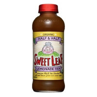 Sweetleaft Half&Half Tea-Lemondade(95% Organic), 16-Ounce Glass(Pack of 12)
