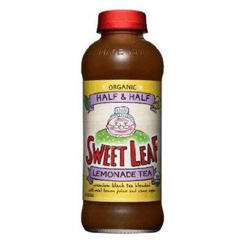 Sweetleaft Half&Half Tea-Lemondade(95% Organic), 16-Ounce Glass(Pack of 12)