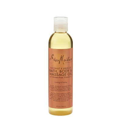 SheaMoisture Cocnut & Hibiscus Bath, Body & Massage Oil