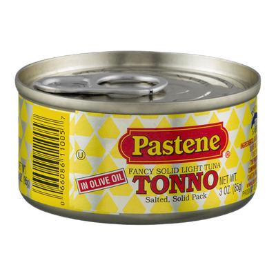 Pastene Fancy Solid Light Tuna in Olive Oil