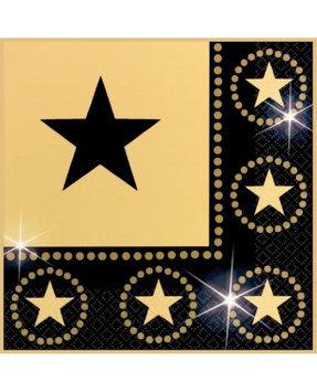 Amscan Star Attraction Luncheon Napkin Pkg/16