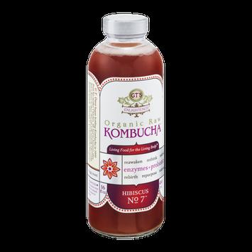 GT's Raw Organic Kombucha Hibiscus No. 7
