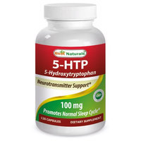 Best Naturals, 5 - HTP (5- Hydroxytryptophan) 100 mg, 120 Capsules