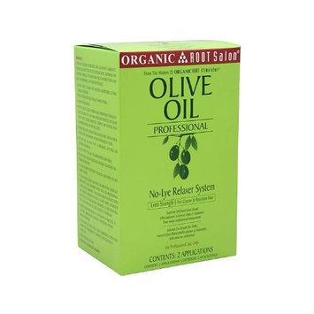 Organic Root Stimulator Olive Oil Professional No-Lye Relaxer System, Extra Strength, 48 Ounce