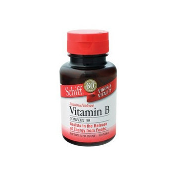 Schiff Products - Vitamin B Complex, 50 mg, 100 tablets