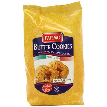 Farmo Gluten Free Butter Cookies, 7-Ounce (Pack of 4)