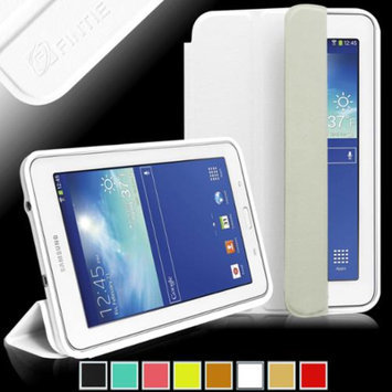 Fintie Omni Case Cover Slim Lightweight All-around Protection Stand for Samsung Galaxy Tab 3 Lite 7.0 Tablet, White