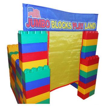 Serec Entertainment Jumbo Blocks 99 Piece Playland Playhouse