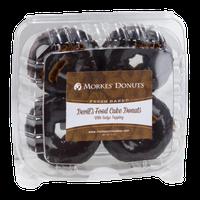 Morkes Devil's Food Cake Donuts - 4 CT