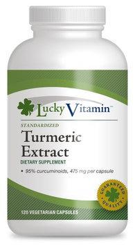 LuckyVitamin - Turmeric Standardized Extract - 120 Vegetarian Capsules
