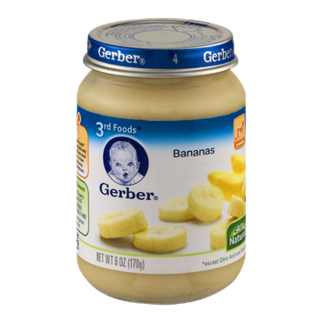 Gerber® 3rd Foods Bananas