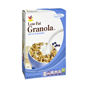 Ahold Low Fat Granola with Raisins