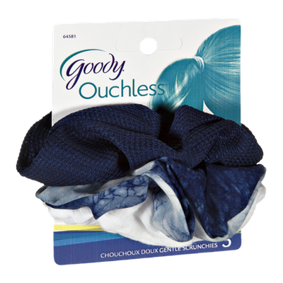 Goody Ouchless Gentle Scrunchies - 3 CT