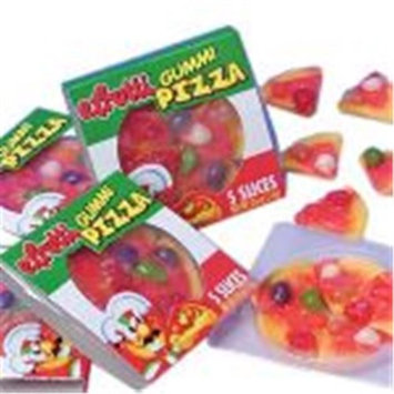 Kid Fun Gummi Candy Pizza - 48 Pieces(Case of 6)