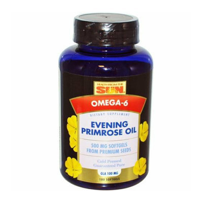 Health From the Sun Evening Primrose Oil Original 500 mg 180 Softgels