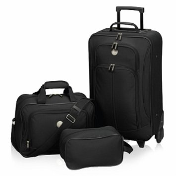 Travelers Club Luggage Euro Value II Carry On Set