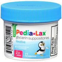 FLEET PEDIA-LAX GLYCERIN SUPPOSITORIES CHILDREN 12'S