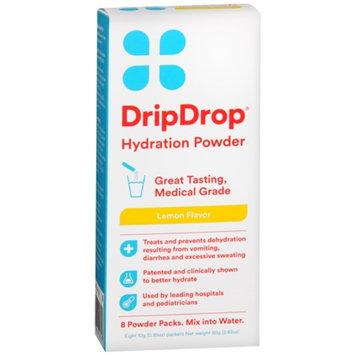 Drip Drop Hydration Powder, Lemon, 8 ea