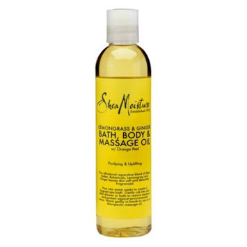 SheaMoisture Lemongrass & Ginger Bath, Body & Massage Oil