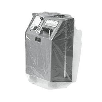 Mason Medical Plastic Concentrator Equipment Storage Transport Cover Bag, Clear, 1 ea