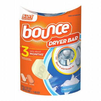 Bounce Dryer Bar Fabric Softener 3 Month Bar, Fresh Linen, 1 ea