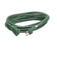 Coleman Cable 3 Conductor Vinyl Outdoor Landscape Extension Cord - 20 Feet