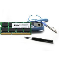 Wintec 4GB DDR3 Laptop Memory Upgrade Kit 1333MHz with SODIMM Chip, Screw Driver, Anti-Static (ES) Strap & more