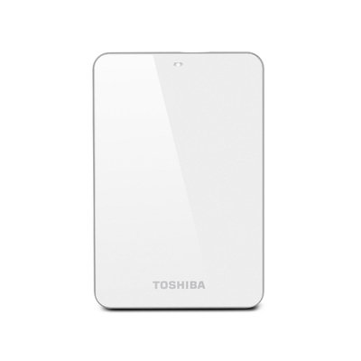 Toshiba Canvio Connect 500GB Portable External Hard Drive, White